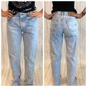1980s Vintage Levi's Stonewash Button Fly Jeans